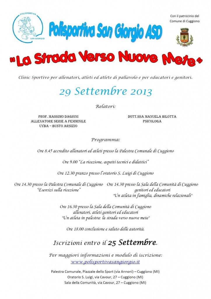 La Strada Verso Nuove Mete 29 Settembre 2013 1532x2167